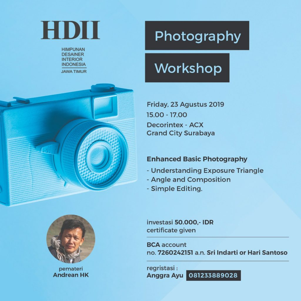HDII Photography Workshop
