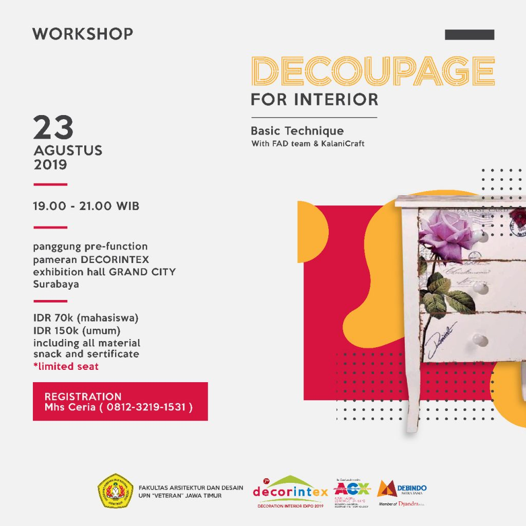 Decoupage For Interior