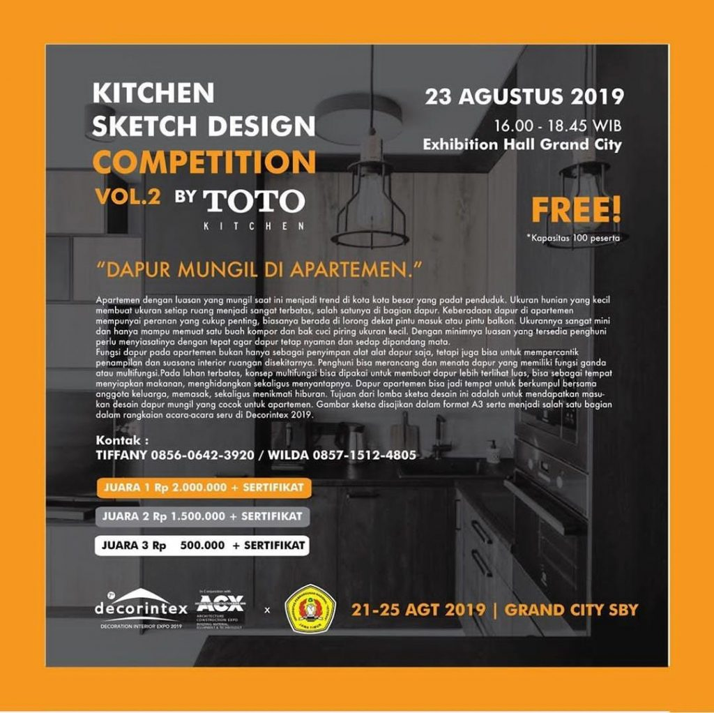 Kitchen Sketch Design Competition